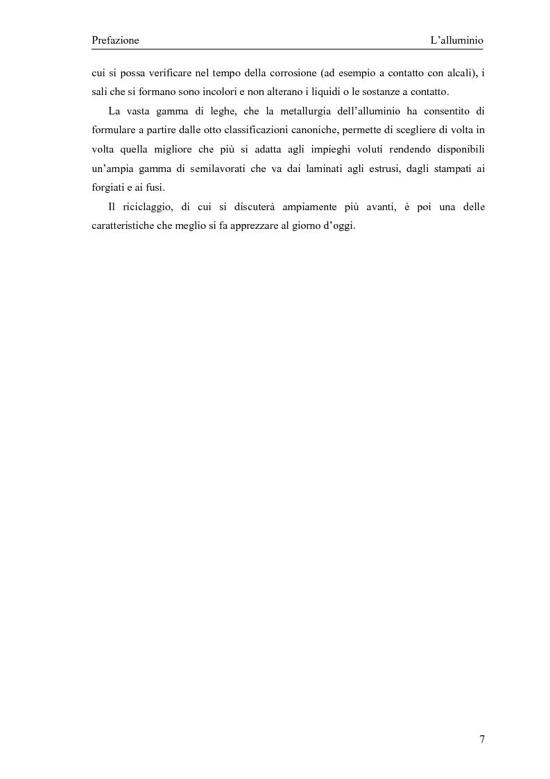 Anteprima della tesi: Valutazione della corretta tipologia di forno fusorio per alluminio secondario, Pagina 7