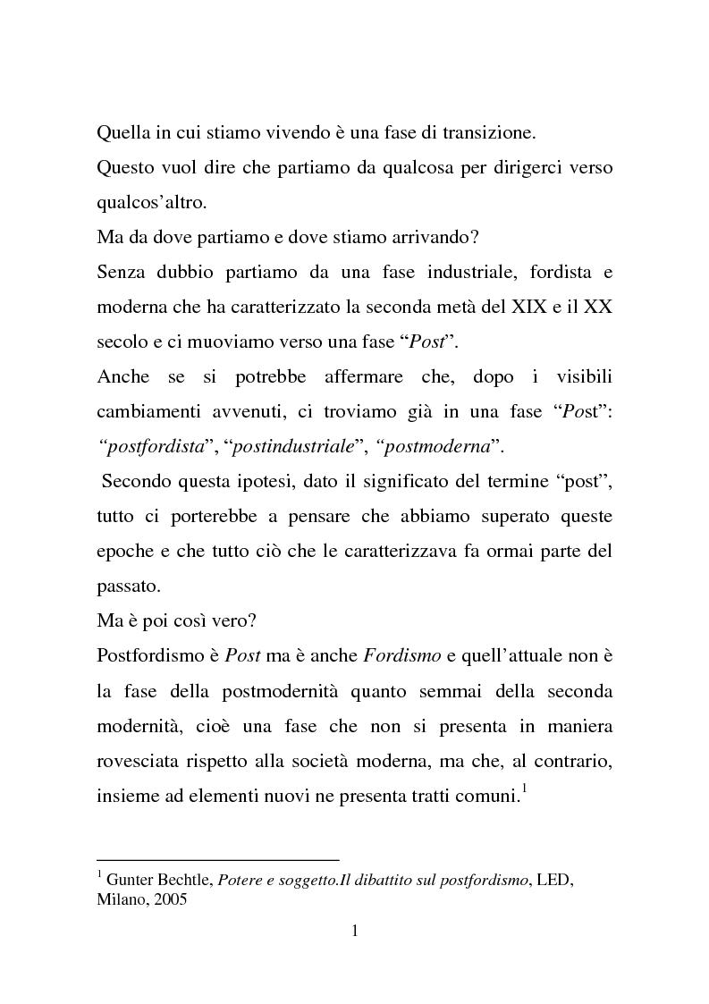 Anteprima della tesi: Quando la virtu@lità supera la realtà, Pagina 1