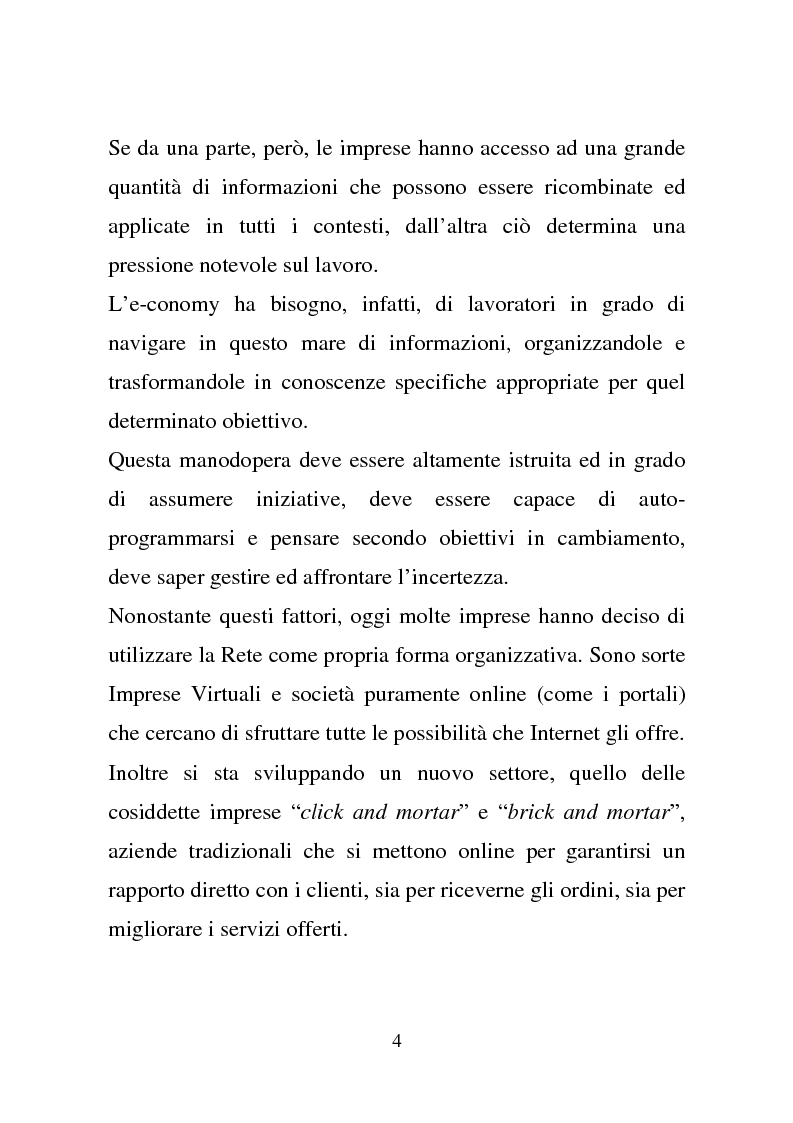 Anteprima della tesi: Quando la virtu@lità supera la realtà, Pagina 4