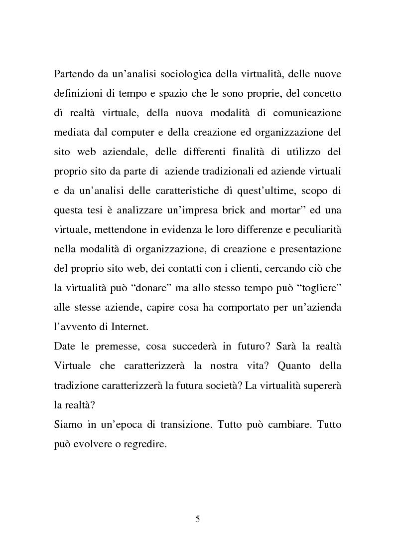 Anteprima della tesi: Quando la virtu@lità supera la realtà, Pagina 5