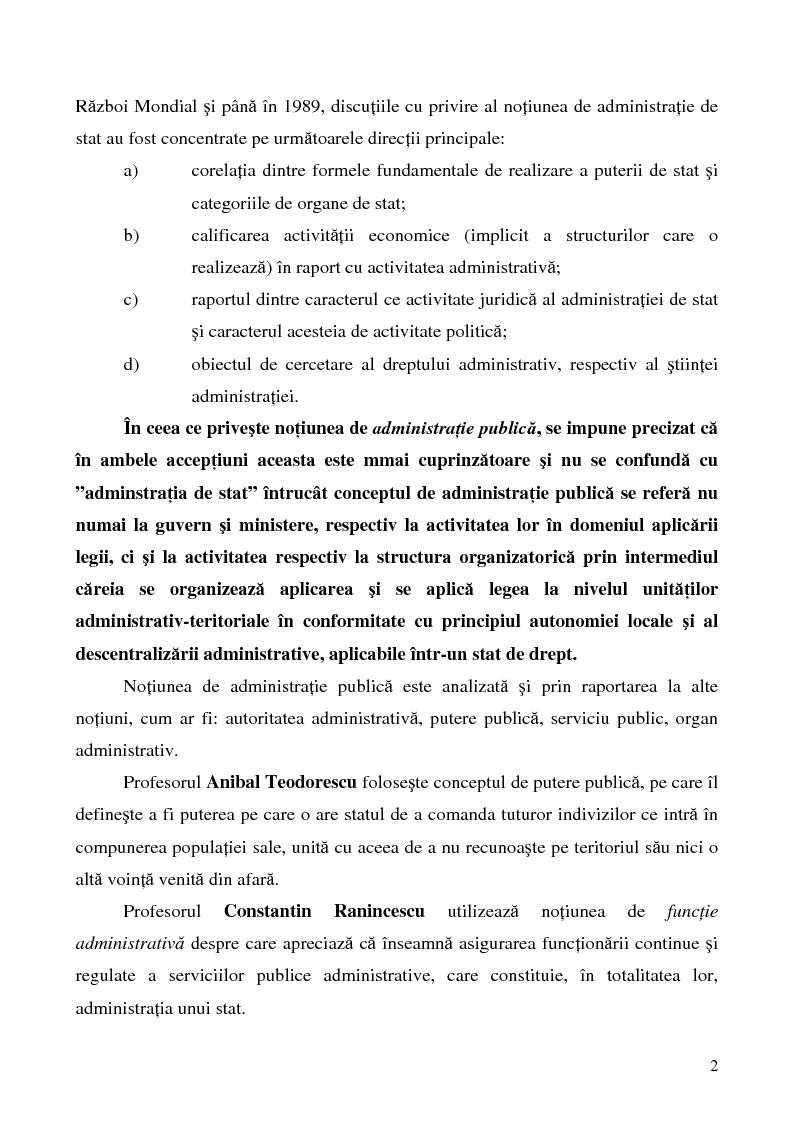 Anteprima della tesi: Conceptul autonomiei locale si controlul ierarhic, Pagina 2