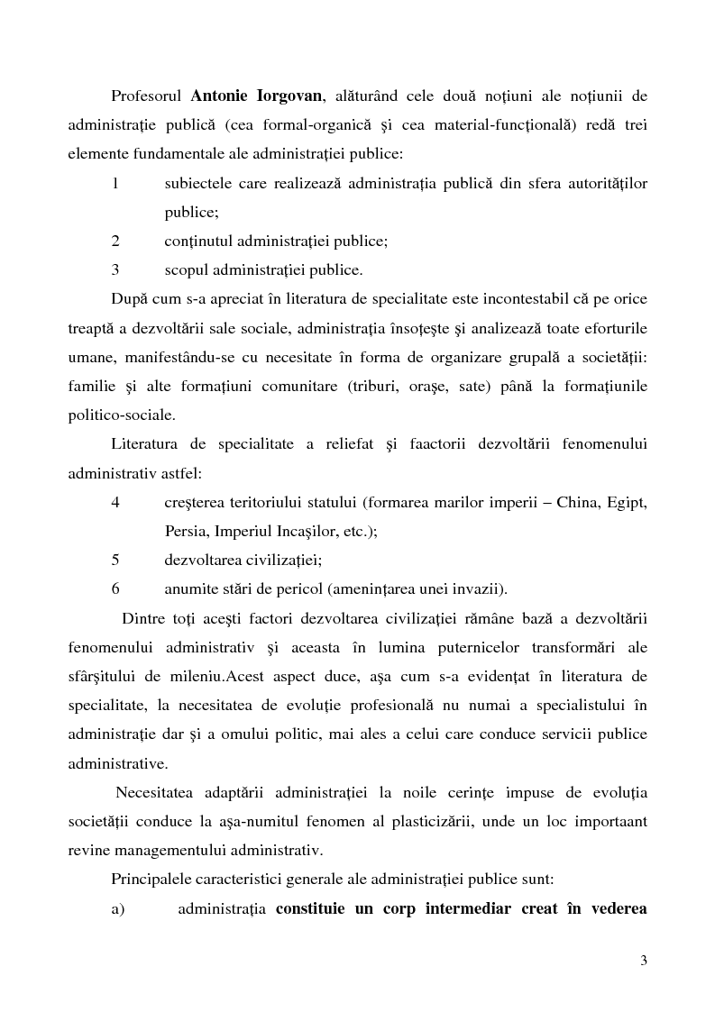 Anteprima della tesi: Conceptul autonomiei locale si controlul ierarhic, Pagina 3