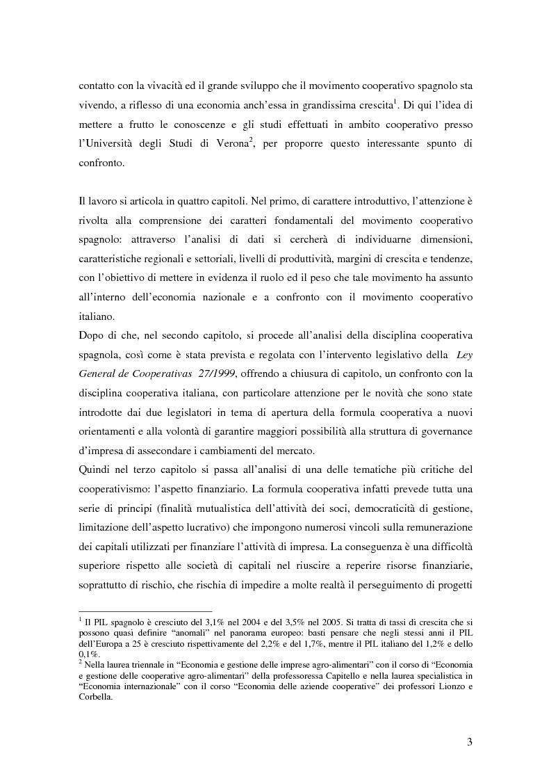 Anteprima della tesi: La formula cooperativa d'impresa in Spagna e in Italia: un'analisi comparata, Pagina 3