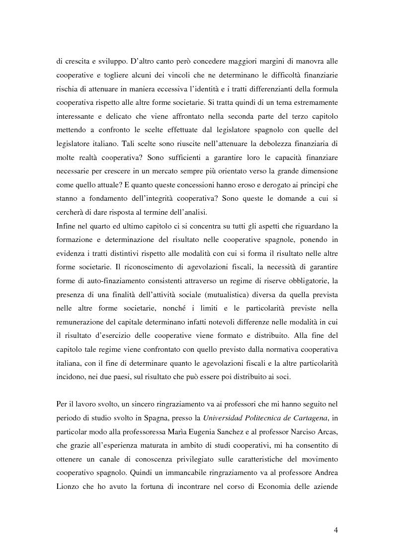 Anteprima della tesi: La formula cooperativa d'impresa in Spagna e in Italia: un'analisi comparata, Pagina 4