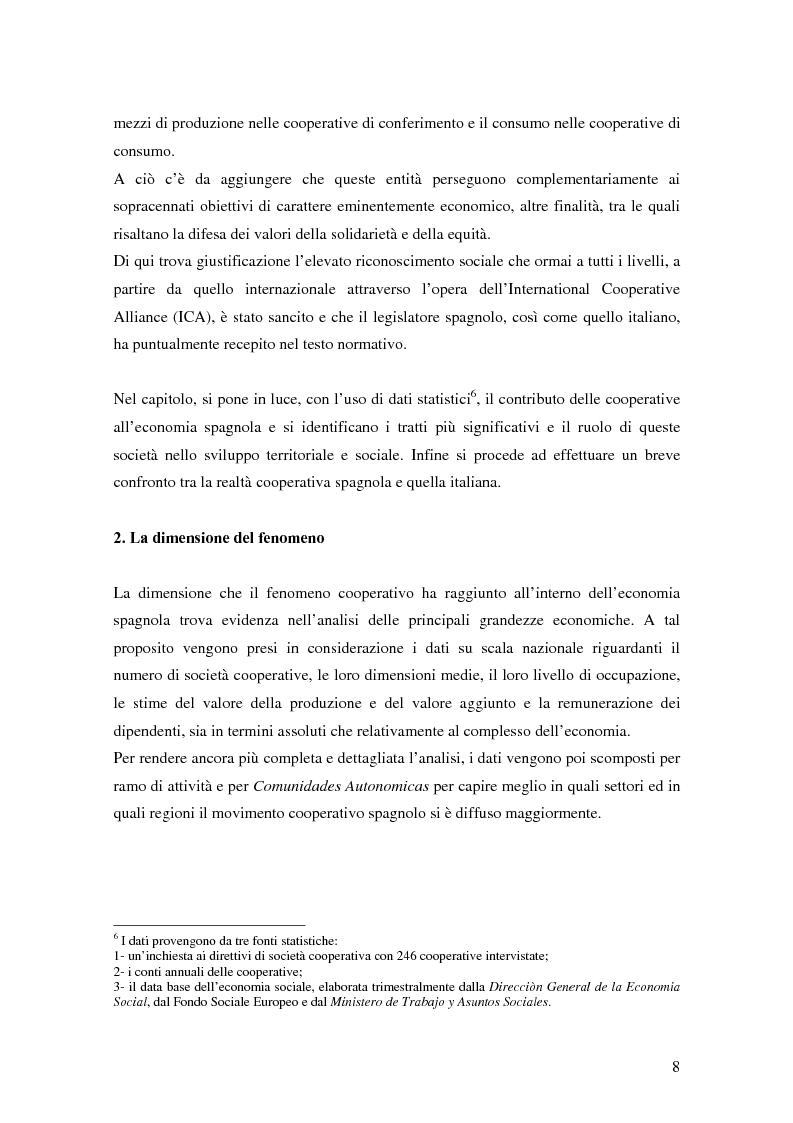 Anteprima della tesi: La formula cooperativa d'impresa in Spagna e in Italia: un'analisi comparata, Pagina 8
