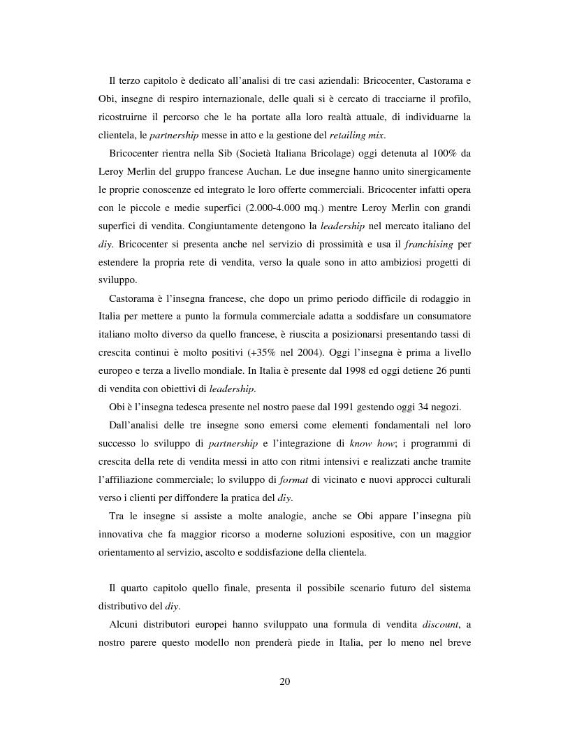 Anteprima della tesi: L'evoluzione del sistema distributivo nel mercato del do it yourself, Pagina 10