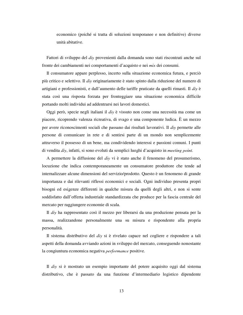 Anteprima della tesi: L'evoluzione del sistema distributivo nel mercato del do it yourself, Pagina 3