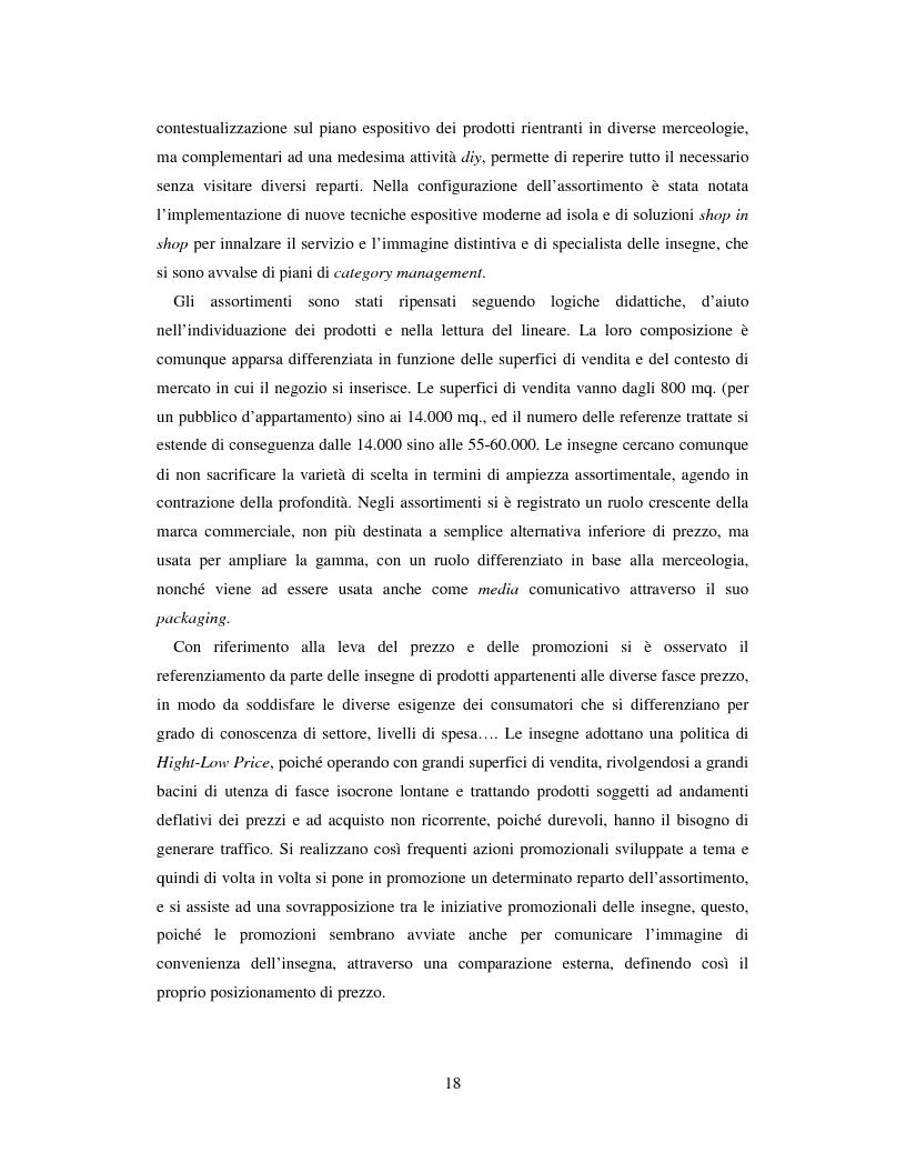Anteprima della tesi: L'evoluzione del sistema distributivo nel mercato del do it yourself, Pagina 8