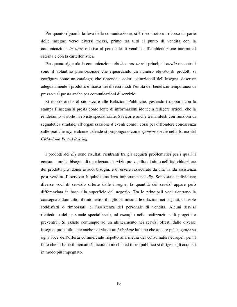 Anteprima della tesi: L'evoluzione del sistema distributivo nel mercato del do it yourself, Pagina 9