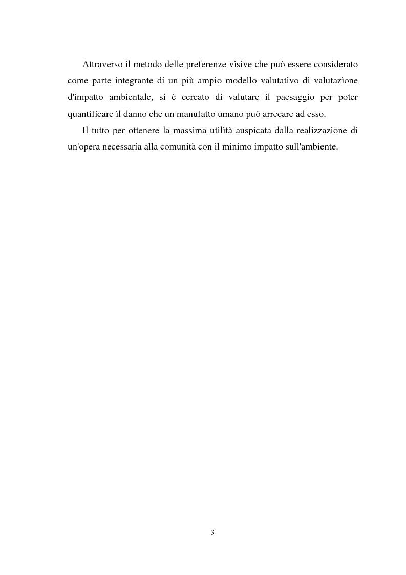 Anteprima della tesi: Il paesaggio nelle valutazioni di impatto ambientale, Pagina 2