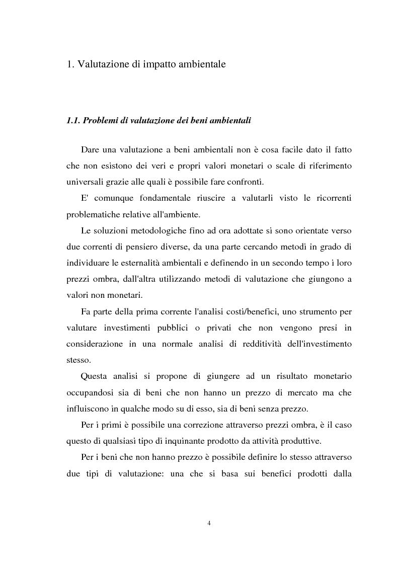 Anteprima della tesi: Il paesaggio nelle valutazioni di impatto ambientale, Pagina 3