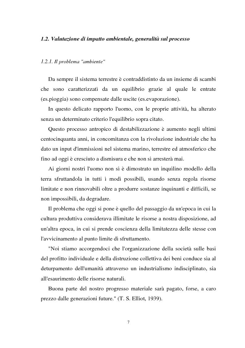 Anteprima della tesi: Il paesaggio nelle valutazioni di impatto ambientale, Pagina 6