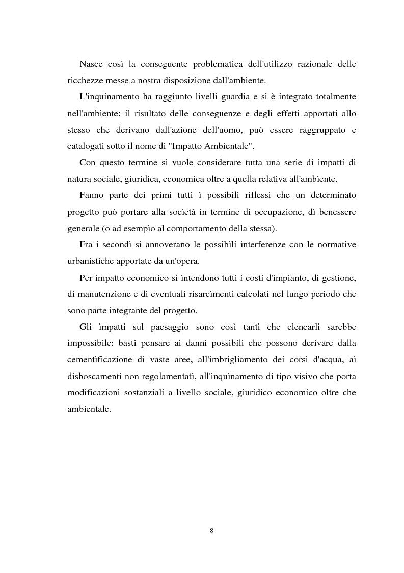 Anteprima della tesi: Il paesaggio nelle valutazioni di impatto ambientale, Pagina 7