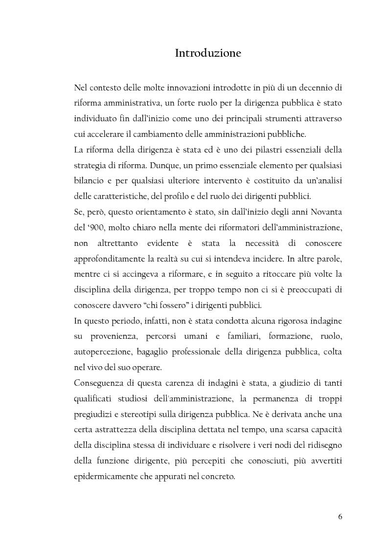 Anteprima della tesi: La nuova dirigenza: i profili e le competenze dei ruoli manageriali, Pagina 1