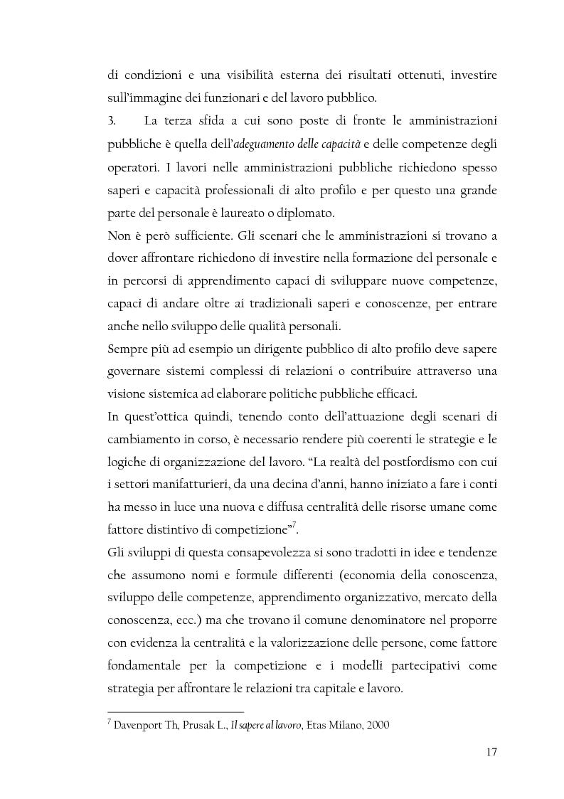 Anteprima della tesi: La nuova dirigenza: i profili e le competenze dei ruoli manageriali, Pagina 12