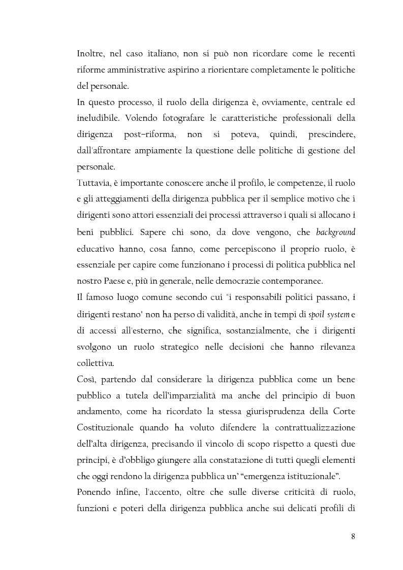 Anteprima della tesi: La nuova dirigenza: i profili e le competenze dei ruoli manageriali, Pagina 3
