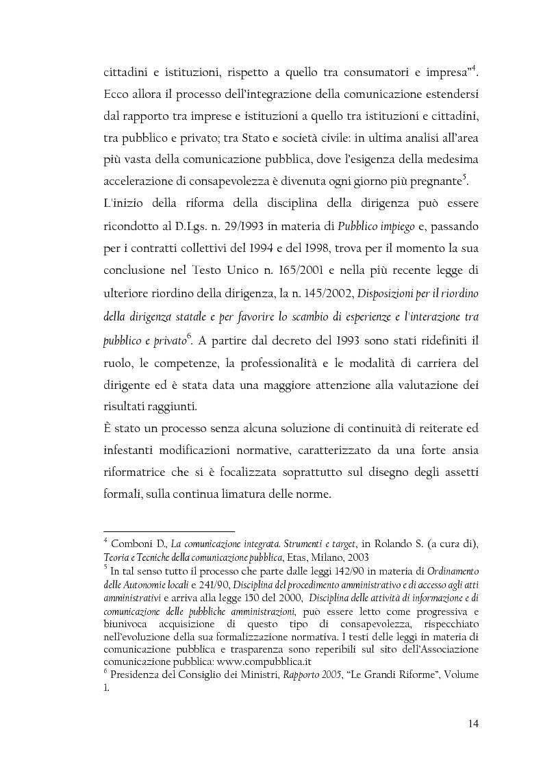 Anteprima della tesi: La nuova dirigenza: i profili e le competenze dei ruoli manageriali, Pagina 9