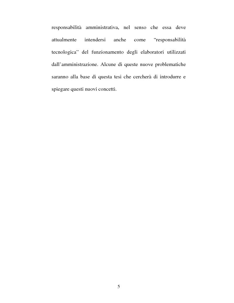 Anteprima della tesi: Atto amministrativo informatico, Pagina 5