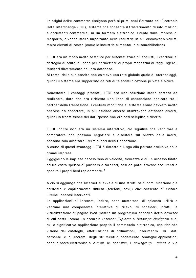 Anteprima della tesi: Commercio Elettronico, Pagina 2
