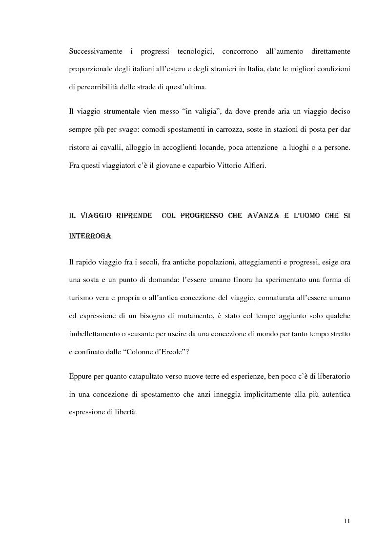 Anteprima della tesi: Psicologia del turismo e rappresentazione delle risorse del territorio: un'ipotesi di ricerca sugli operatori della provincia di Bari, Pagina 10