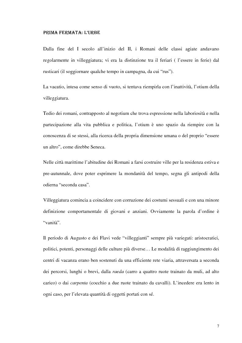 Anteprima della tesi: Psicologia del turismo e rappresentazione delle risorse del territorio: un'ipotesi di ricerca sugli operatori della provincia di Bari, Pagina 6