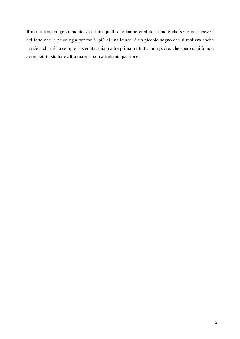 Anteprima della tesi: Sostegno familiare, autostima e comportamenti problematici nei giovani adulti omosessuali, Pagina 2