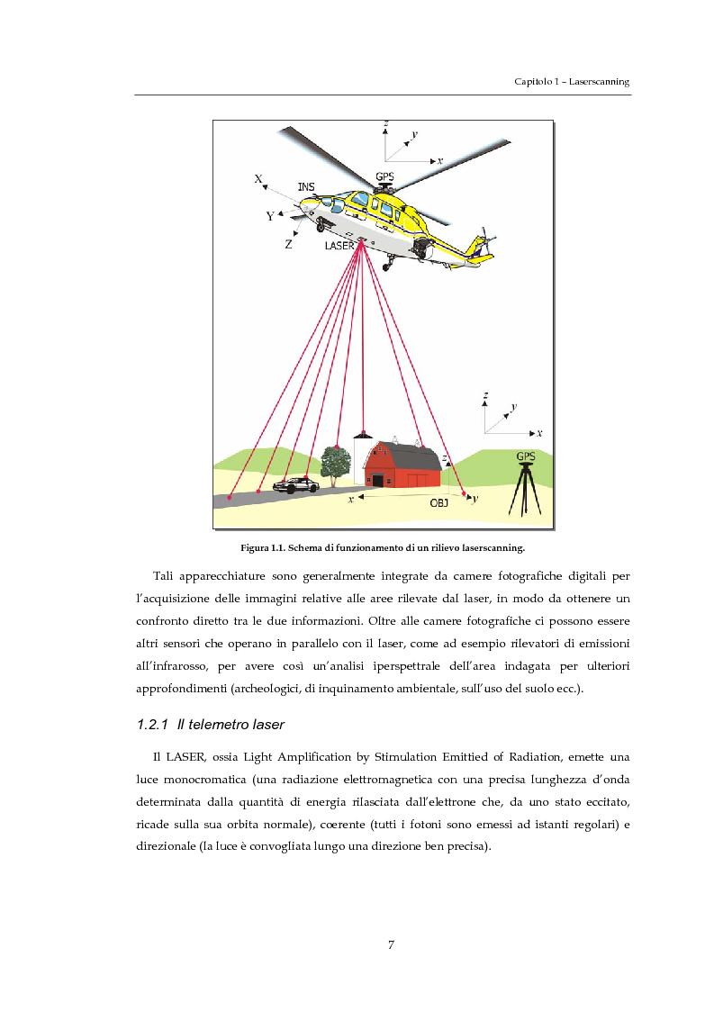 Anteprima della tesi: Validazione altimetrica di un rilievo LiDAR aereo del torrente Cormor, Pagina 7