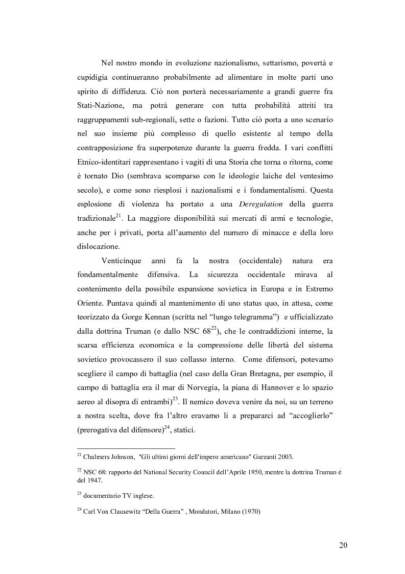 Anteprima della tesi: I Cambiamenti nelle forme della guerra e le Forze Speciali, Pagina 10