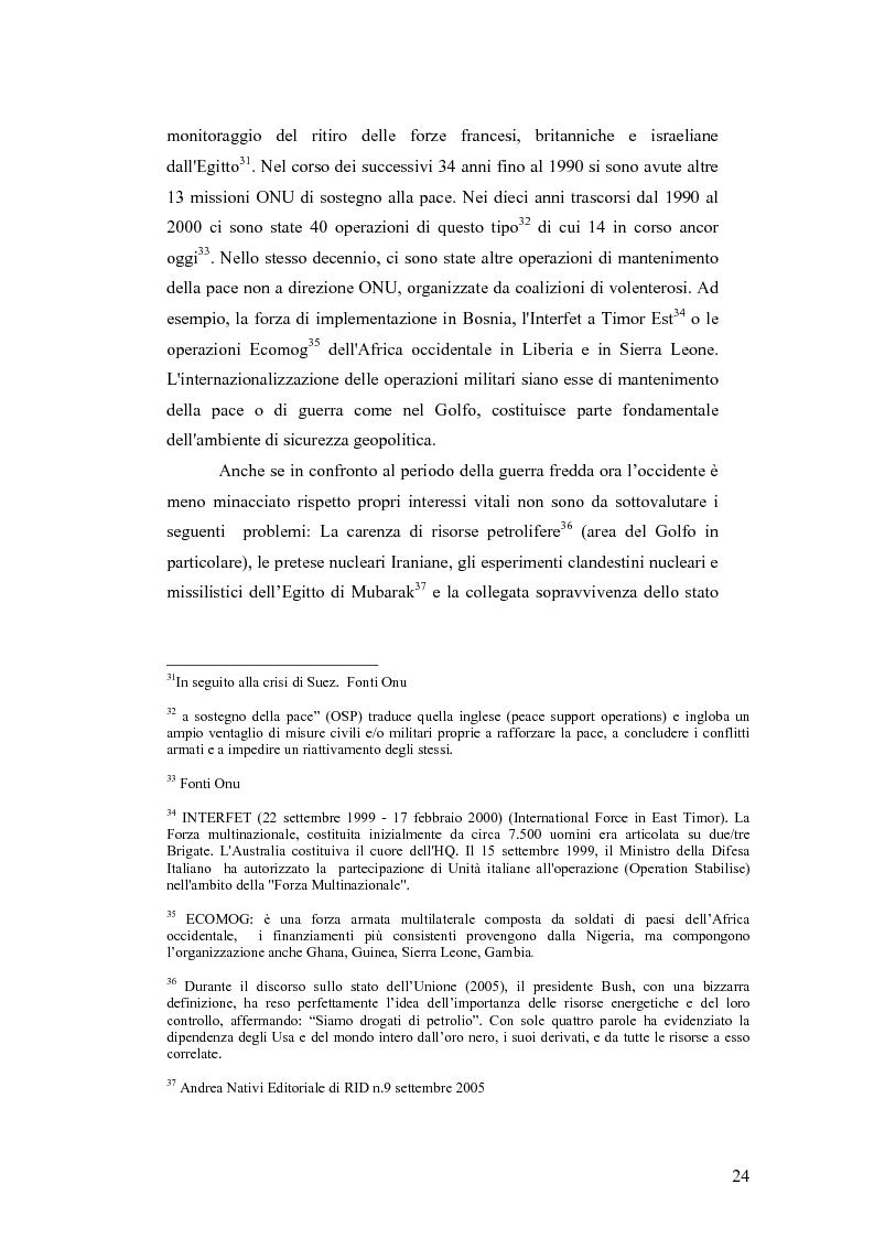 Anteprima della tesi: I Cambiamenti nelle forme della guerra e le Forze Speciali, Pagina 14