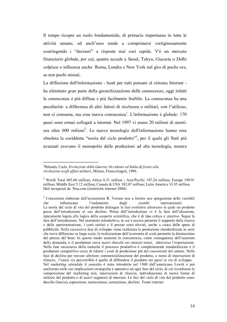 Anteprima della tesi: I Cambiamenti nelle forme della guerra e le Forze Speciali, Pagina 4