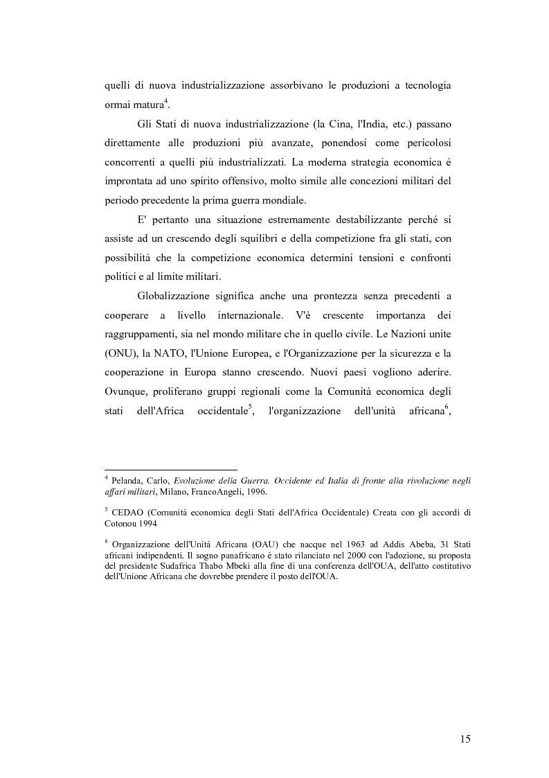 Anteprima della tesi: I Cambiamenti nelle forme della guerra e le Forze Speciali, Pagina 5