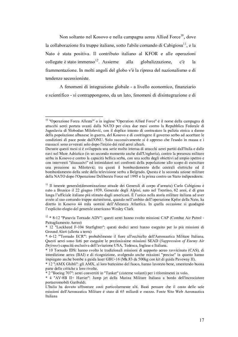 Anteprima della tesi: I Cambiamenti nelle forme della guerra e le Forze Speciali, Pagina 7