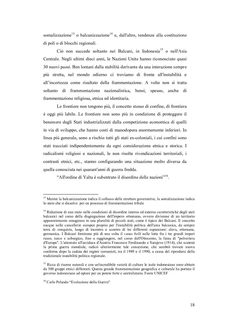 Anteprima della tesi: I Cambiamenti nelle forme della guerra e le Forze Speciali, Pagina 8