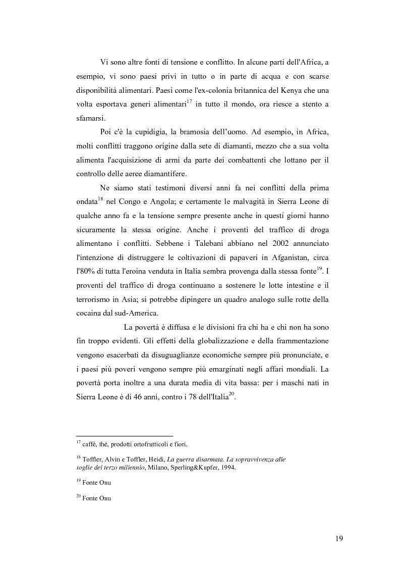 Anteprima della tesi: I Cambiamenti nelle forme della guerra e le Forze Speciali, Pagina 9