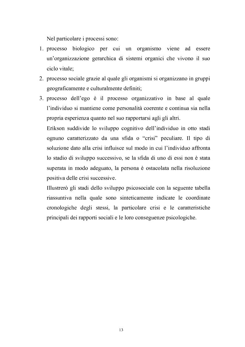 Anteprima della tesi: Dinamiche psicologiche di costruzione dell'identità in soggetti immigrati di seconda generazione, Pagina 11
