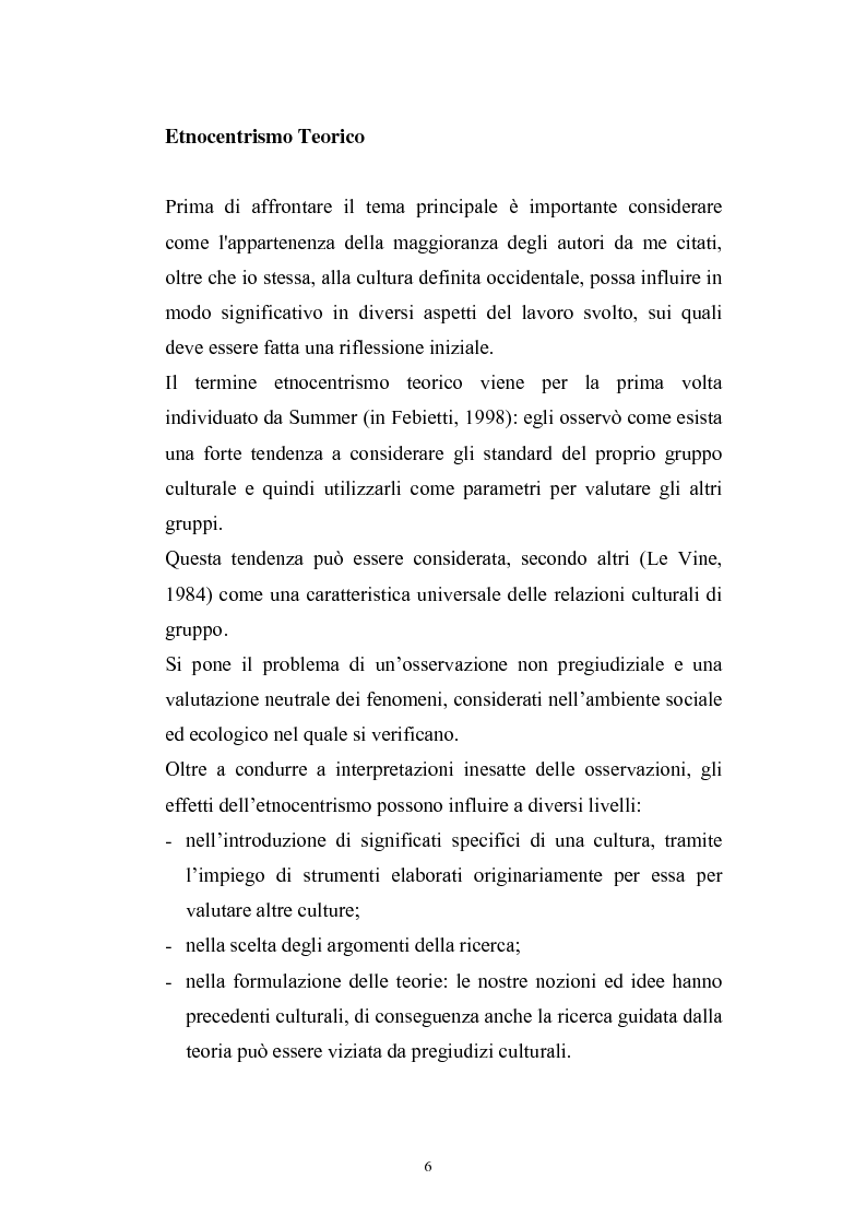 Anteprima della tesi: Dinamiche psicologiche di costruzione dell'identità in soggetti immigrati di seconda generazione, Pagina 4