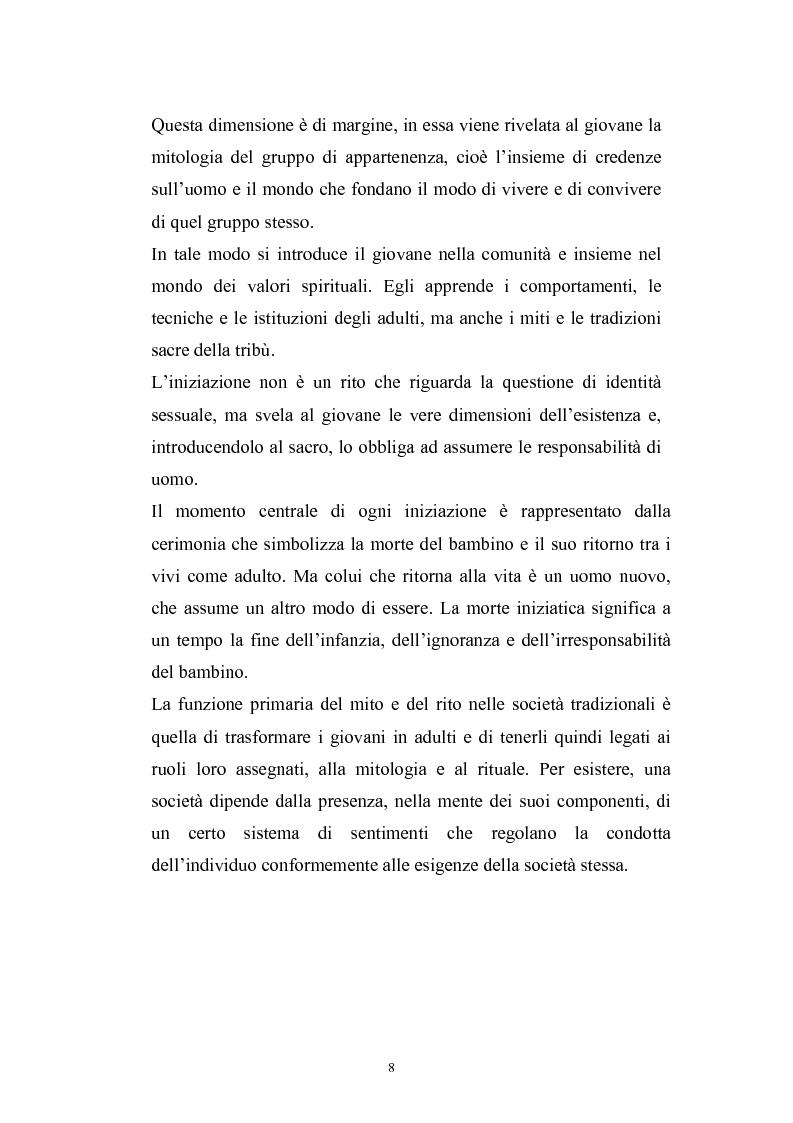 Anteprima della tesi: Dinamiche psicologiche di costruzione dell'identità in soggetti immigrati di seconda generazione, Pagina 6