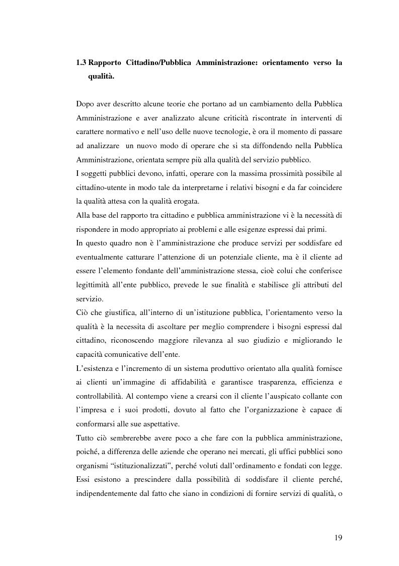 Anteprima della tesi: Il processo di sviluppo dell'E-government: il caso E-mountain Lazio, Pagina 12