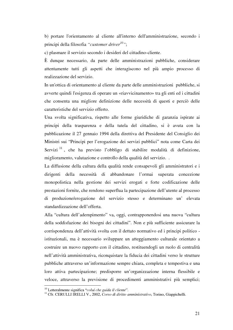 Anteprima della tesi: Il processo di sviluppo dell'E-government: il caso E-mountain Lazio, Pagina 14