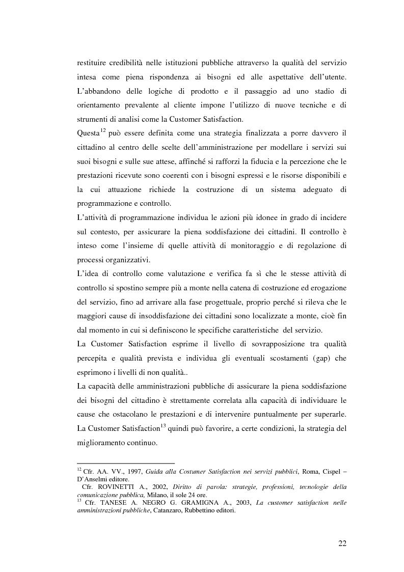 Anteprima della tesi: Il processo di sviluppo dell'E-government: il caso E-mountain Lazio, Pagina 15