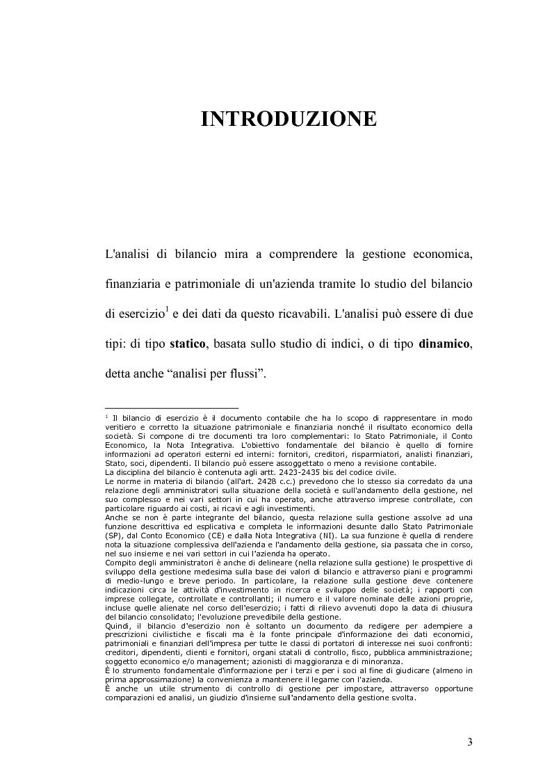Anteprima della tesi: Analisi economico-finanziaria di un'azienda della grande distribuzione organizzata: Aligros SpA, Pagina 1