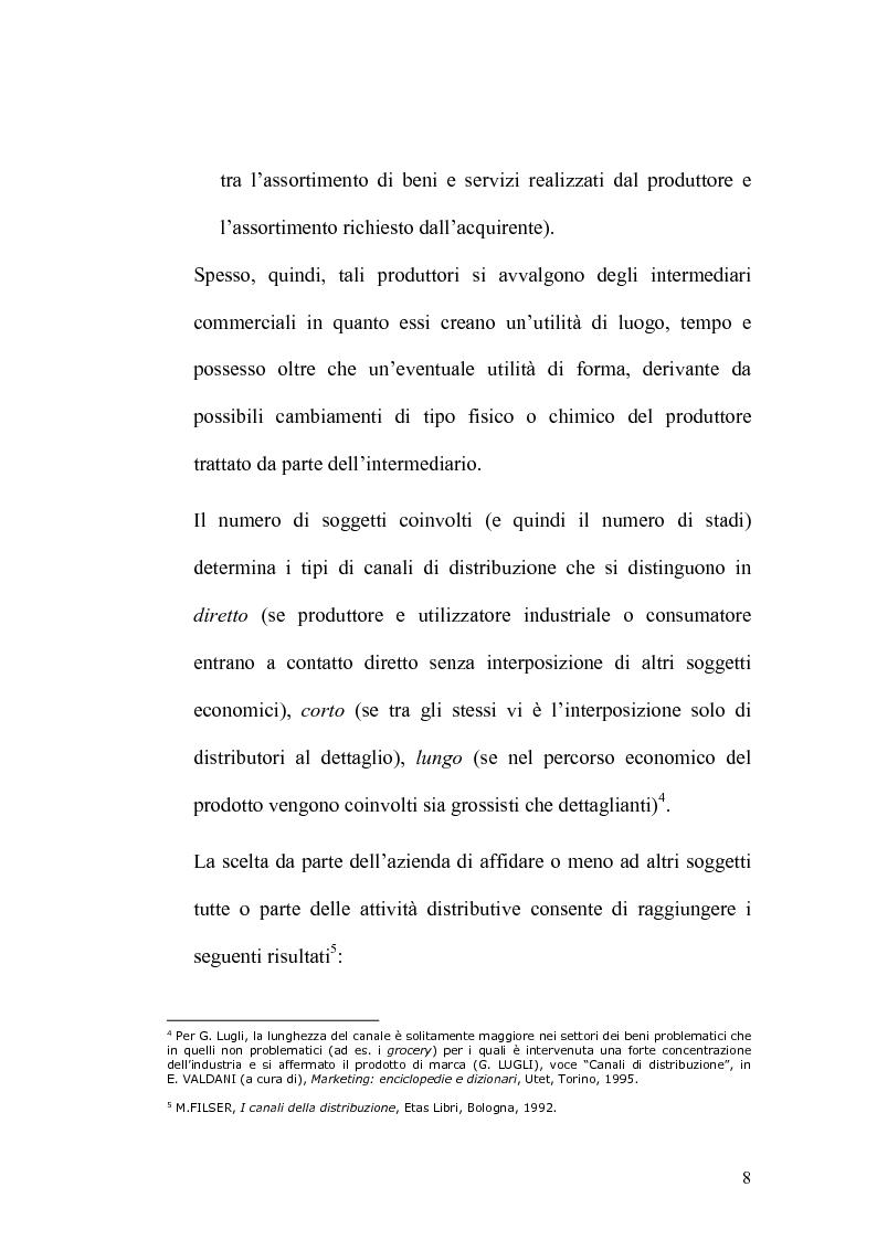 Anteprima della tesi: Analisi economico-finanziaria di un'azienda della grande distribuzione organizzata: Aligros SpA, Pagina 6