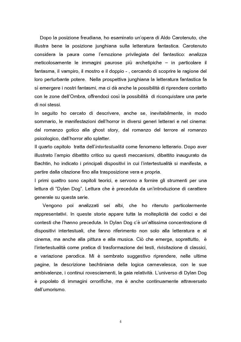 Anteprima della tesi: Una lettura di Dylan Dog, Pagina 2
