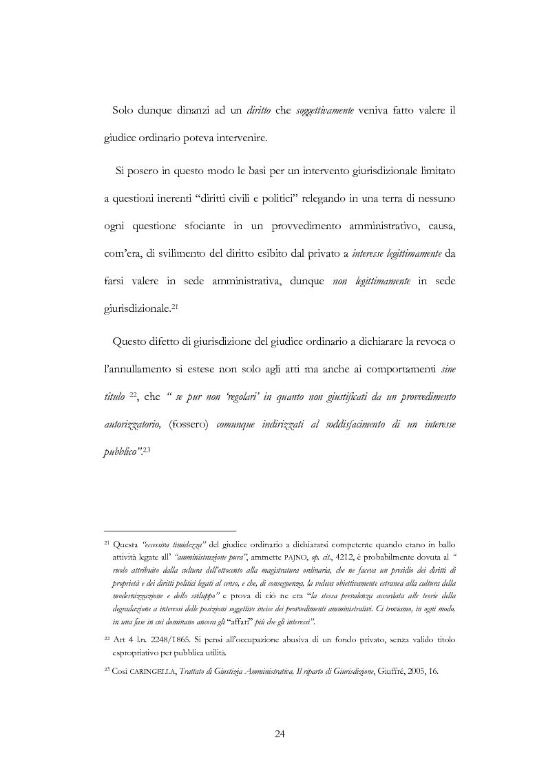 Anteprima della tesi: I nuovi ambiti della giurisdizione esclusiva e la ''materia'' dei servizi pubblici, Pagina 10