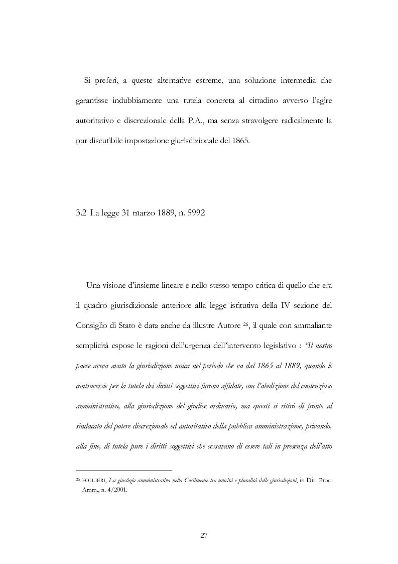 Anteprima della tesi: I nuovi ambiti della giurisdizione esclusiva e la ''materia'' dei servizi pubblici, Pagina 13