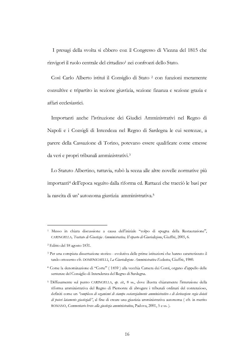 Anteprima della tesi: I nuovi ambiti della giurisdizione esclusiva e la ''materia'' dei servizi pubblici, Pagina 2