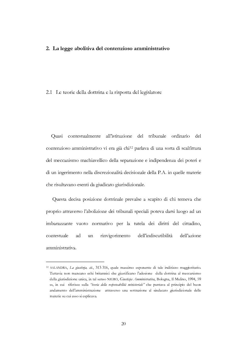 Anteprima della tesi: I nuovi ambiti della giurisdizione esclusiva e la ''materia'' dei servizi pubblici, Pagina 6