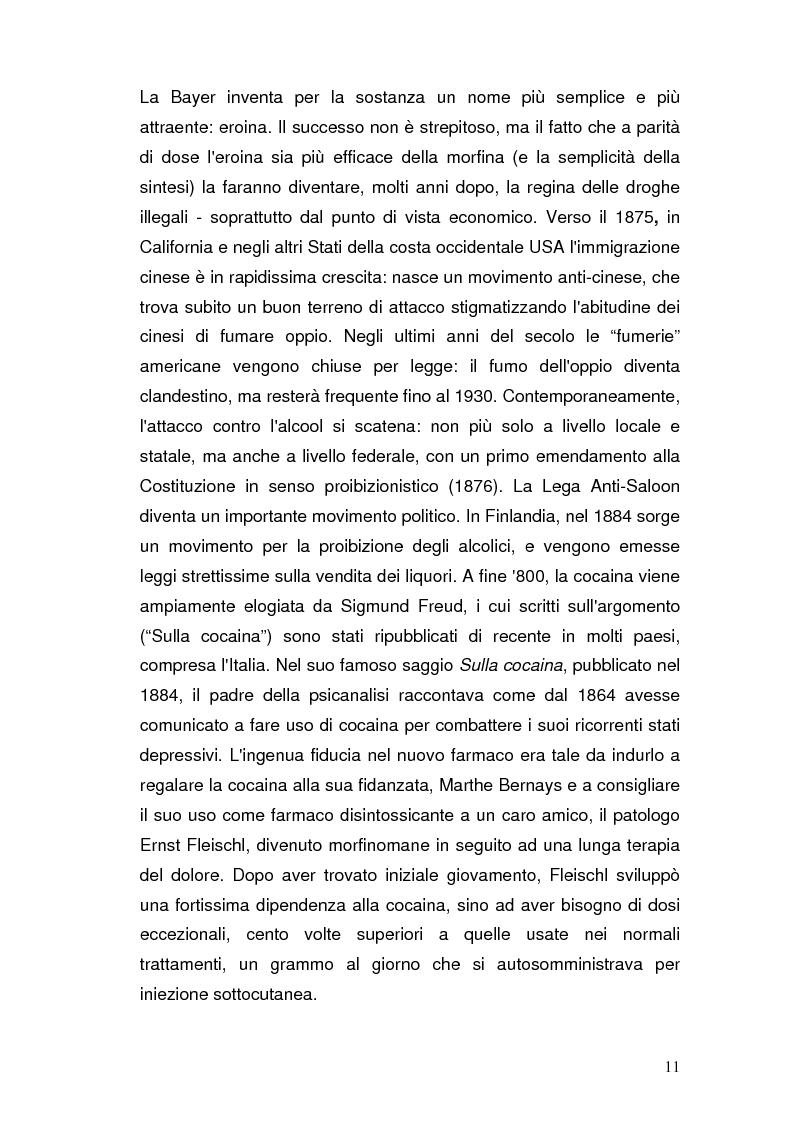 Anteprima della tesi: Somatizzazione di ansia e depressione nella eziopatogenesi della doppia diagnosi, Pagina 10