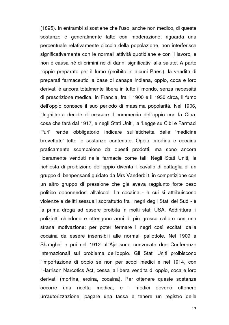 Anteprima della tesi: Somatizzazione di ansia e depressione nella eziopatogenesi della doppia diagnosi, Pagina 12