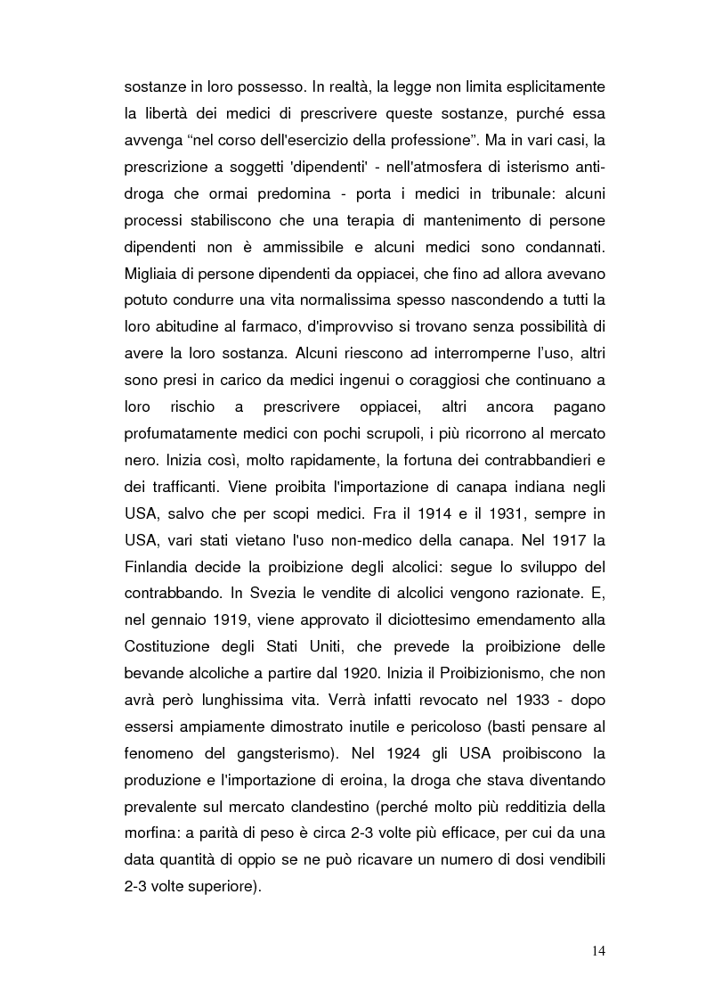 Anteprima della tesi: Somatizzazione di ansia e depressione nella eziopatogenesi della doppia diagnosi, Pagina 13